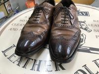 スムースレザー靴のメンテナンス。 - 西日本よかよか靴磨きブログ