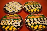 """イタリアで寿司ケータリング """"Catering Sushi per 10 persone"""" - ITALIA Happy Life イタリア ハッピー ライフ  -Le ricette di Rie-"""