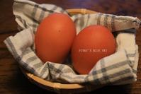 「ありがとう^^」の、卵&チーズ - FUNKY'S BLUE SKY