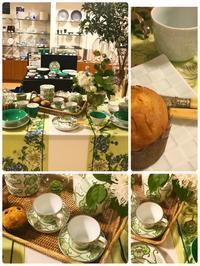 岩田屋新館6階アリタポーセリンラボ(母の日を祝うガーデンティーテーブル) - Table & Styling blog