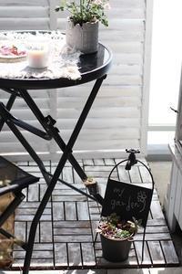 ガーデニング日和★ベランダを畑に~菜園記録 - フレンチシックな家作り。Le petit chateau