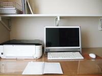 【仕事ができる机】 - ナチュラルな私の暮らし