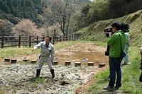 テレビ取材とアジサイグッズの紹介 - 手柄山温室植物園ブログ 『山の上から花だより』
