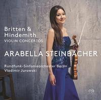 Britten & Hindemith: Vn-Cons@A.Steinbacher, V.Jurowski/RSO Berlin - MusicArena