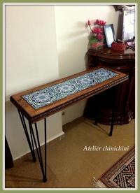 これまた素敵なタイル・サイドテーブル  - - イスタンブル発 -  トルコタイル通信