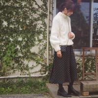ドットワンピでママコーデ - ゆらゆら blog
