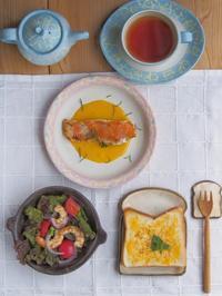 色々朝ごはん - 陶器通販・益子焼 雑貨手作り陶器のサイトショップ 木のねのブログ