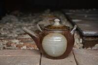 丸紋土瓶 - やきものをつくろう  生畑皿山窯