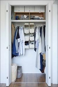【 服の収納、大人と子どもを1か所にまとめてみた結果 】 - 片付けたくなる部屋づくり