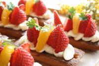 苺のタルト - 小麦の時間   京都の自宅にてパン教室を主宰(JHBS認定教室)