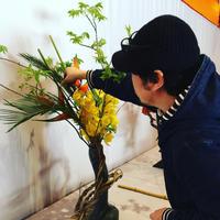 平安神宮献花展(大会)2018年 4月14~16日 - 華道洛陽未生流 - 京都 生け花