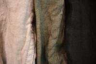 ARMEN/Linen Herring-Bone Jacket&Skirt - JUILLET