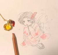 春でえむんなメモリーオイル - LoopDays     Sachiko's Illustration blog