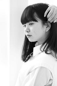 川本好華ちゃん7 - モノクロポートレート写真館