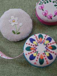 刺繍のメジャー完成しました♪ - 手刺繍屋 Eri-kari(エリカリ)