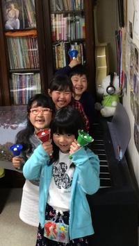 【♪美香ピアノ教室♪】のミュージックベル隊です❤ - takatakaの日記