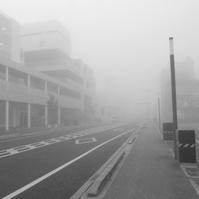 A foggy morning - なんとなくデジタル