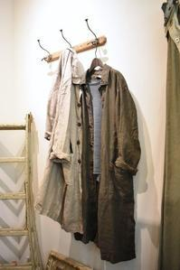 ARMEN/Linen Herring-Bone Coat&Pants - JUILLET