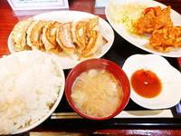 京都市 W餃子定食♪ 餃子の朝日 - 転勤日記