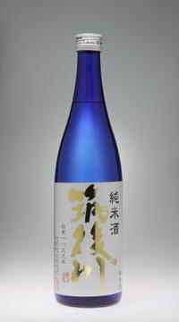 筑後川  純米酒[飛龍酒造] - 一路一会のぶらり、地酒日記