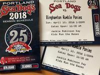 Sea Dogs' Season Start !? - ファルマウスミー