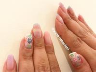 春の刺繍ネイル☆ - 表参道・銀座ネイルサロンtricia BLOG