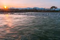 みちのく春の夕刻 - みちのくの大自然