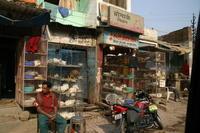 過去の海外旅行写真からインドの鶏肉屋さん - ゆらりっぷ -yurari's trip-