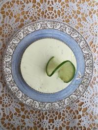 ライムレアチーズケーキ - 調布の小さな手作りお菓子教室 アトリエタルトタタン