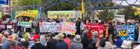 オスプレイ配備の横田基地撤去を求める集会に参加した! - 上洛上京物語