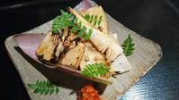 焼き筍!かき醤油 - 遊食彩旬 乃'SAN