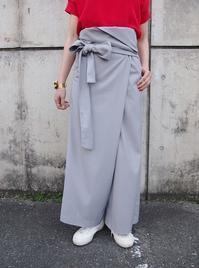 名前のないブランド(TOMOUMI ONO)ラップパンツ - suifu
