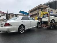 調布市のコインパーキング駐車場から故障車をレッカー車で廃車の出張引き取りしました。 - 廃車戦隊引き取りレンジャー