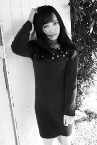楠木ゆりあちゃん7 - モノクロポートレート写真館