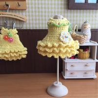デザイン違いのミモザカラーのワンピース - 編み好き@amiami通信