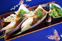 ■季節のおつまみ 【焼き竹の子の山椒味噌田楽】と 【ネギ坊主の酢味噌かけ】 - 「料理と趣味の部屋」