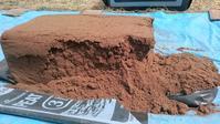 ブルーベリー植付け穴の土壌改良 その2 (ピートモス準備) - 初めてのブルーベリー栽培記