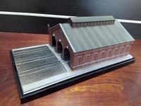 NEWジオラマ、「3線レンガ庫」完成 - e-stationショップブログ
