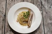 """マテ貝のスパゲッティ """"Spaghetti ai Cannolicchi スパゲッティ アイ カンノリッキ"""" - ITALIA Happy Life イタリア ハッピー ライフ  -Le ricette di Rie-"""