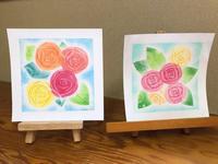 今日はアトリエ絵くぼ、初のパステルアート体験会でした - アトリエ絵くぼのパステルアート教室