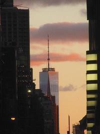街の景色備忘録  黄昏れ時のマンハッタン - NYからこんにちは