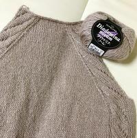 ラグランスリーブの編み図 - セーターが編みたい!
