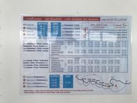 チンクエテッレ自力の旅7:船で一気にモンテロッソへ - フィレンツェのガイド なぎさの便り