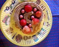 春休みのお楽しみ会    ホットなケーキ - MORIのアトリエ便りin京都