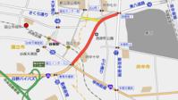 国立市さくら通り延伸進捗状況2018春 - 俺の居場所2(旧)