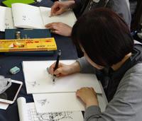 【文字が描ければ人物画は描けます!】 - 筆一本あれば人生は楽し! -図解イラスト工房-