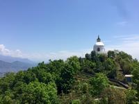 【ネパール旅行】ポカラが見渡せる丘の上にある日本山妙法寺/World Peace Pagoda@ポカラ - ☆M's bangkok life diary☆