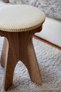 木製の椅子のリメイク - A partir d'une seule piece  カルトナージュで私だけの空間創り