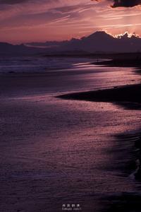 第841回  優しい時間 - 湘南群青 -The sunset  blue -