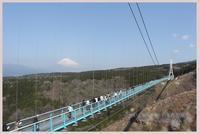 日本一の吊り橋へ。 - かいじゅうたちのいる我が家。